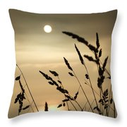 Cornwall Misty Sunset One Throw Pillow
