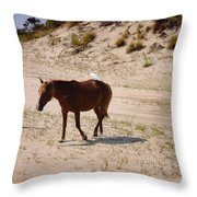 Corolla Hitchhiker Throw Pillow
