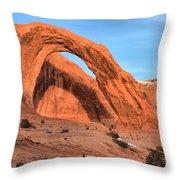 Corona Arch Canyon Throw Pillow