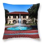 Corona Ca Civic Center Throw Pillow