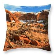 Corona Canyon Throw Pillow
