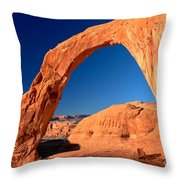 Corona Sunrise Throw Pillow