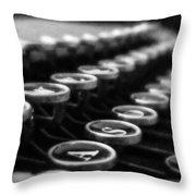 Corona Zephyr Keyboard Throw Pillow