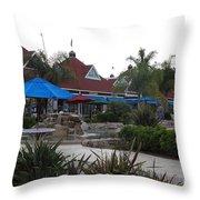 Coronado Ferry Landing Marketplace In Coronado California 5d24386 Throw Pillow
