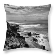 Coronado Islands From Cabrillo Throw Pillow
