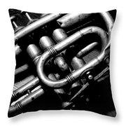 Coronet Solo Peices  Throw Pillow
