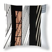 Corporate Eyes  Throw Pillow