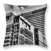 Corporate London Throw Pillow