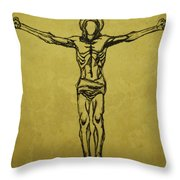 Corpus Christi And Dove Throw Pillow