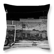 Corral Cocktails Mural Throw Pillow