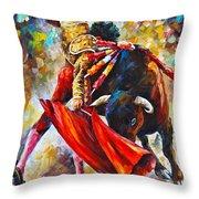 Corrida  New Throw Pillow