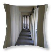 Corridor Throw Pillow by Randi Shenkman