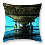 Corrosion Washed Throw Pillow