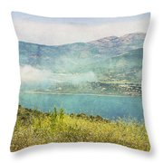 Corsica Western Bend Throw Pillow