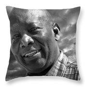 Cortright Livingston Christian A Gentleman Throw Pillow