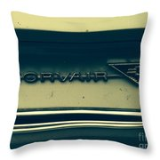 Corvair Throw Pillow