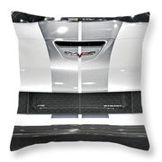 Corvette  Throw Pillow by Tom Gari Gallery-Three-Photography