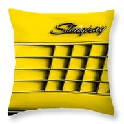 Corvette Gills Throw Pillow