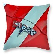 Corvette Throw Pillow