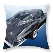 Corvette Stingray 1966 Throw Pillow