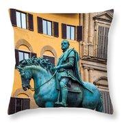 Cosimo De Medici Throw Pillow