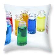 Cosmetics Manufacturer Throw Pillow
