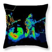 Cosmic Bto In Spokane 1976 Throw Pillow