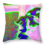 Cosmic Consciousness Throw Pillow