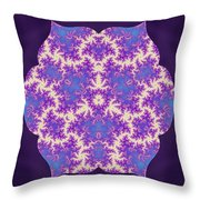 Cosmic Dragonfly Throw Pillow