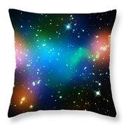 Cosmic Glow Throw Pillow
