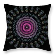 Cosmic Hug Throw Pillow