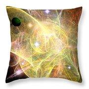 Cosmic Jubilation Throw Pillow