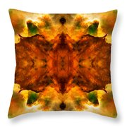 Cosmic Kaleidoscope 2  Throw Pillow by Jennifer Rondinelli Reilly - Fine Art Photography