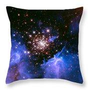 Cosmic Mountains Throw Pillow