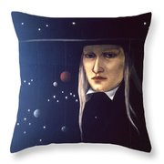 Cosmic Pilgrim Throw Pillow