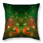 Cosmic Reflection 1 Throw Pillow