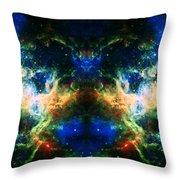 Cosmic Reflection 2 Throw Pillow