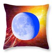 Cosmic Rhythm - Within Border Throw Pillow