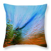 Cosmic Series 006 - Under The Sea Throw Pillow