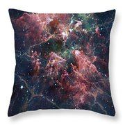 Cosmic Soup Throw Pillow