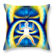 Cosmic Spiral Ascension 08 Throw Pillow