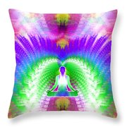 Cosmic Spiral Ascension 13 Throw Pillow
