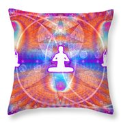 Cosmic Spiral Ascension 15 Throw Pillow