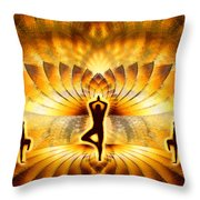 Cosmic Spiral Ascension 23 Throw Pillow