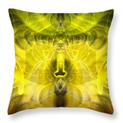 Cosmic Spiral Ascension 26 Throw Pillow
