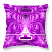 Cosmic Spiral Ascension 29 Throw Pillow