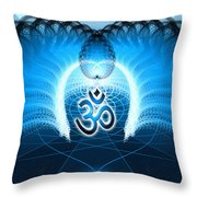 Cosmic Spiral Ascension 30 Throw Pillow