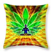 Cosmic Spiral Ascension 34 Throw Pillow