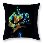 Cosmic Tones From Mick Throw Pillow