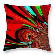 Cosmic Wimpout 1980 Throw Pillow